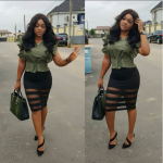 Mercy Aigbe Starts Off The Week With Stunning Fashion Statements