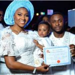 In Pictures: TBoss, Jon, Ese And Uriel Atend Ubi Franklin And Lilian Esoro's Son's Dedication/Birthday Celebration