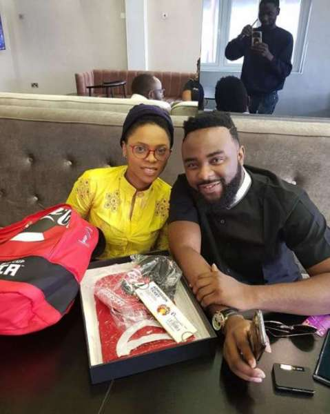 Image result for Chidinma and VJ ADAMS