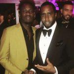 Mr Eazi Hangs With Diddy, Chadwick Boseman, Lupita Nyong'o, Others At Vanity Fair Oscar Dinner