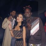 Mr. Eazi Parties With Big Sean, Jhene Aiko & Diplo in London