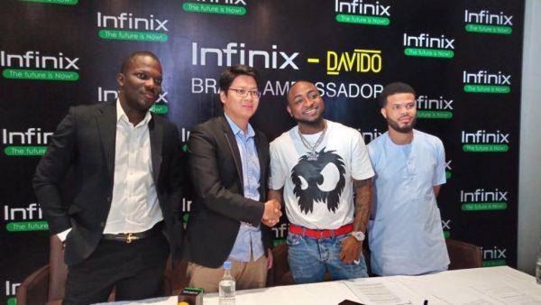Davido Signs Endorsement Deal With Infinix Mobile – Naijaturnup
