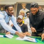 Davido Signs Idowest As Newest Addition To DMW