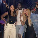 DJ Cuppy, Mr Eazi & His Girlfriend, Temi Otedola Party Together In London
