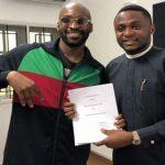 Kach: Nigerian Minister's Son Joins Ubi Franklin's Record Label TripleMG