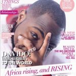 """Davido in Glam Africa's """"Africa Rising"""" July – September Issue"""