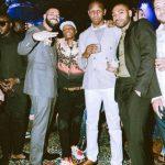 Wizkid & Drake Party Together @ Scorpion Album Listening
