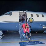 Davido's First Photo Of His New Private Jet #AIROBO