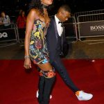 Wizkid Struts Down GQ Red Carpet With Naomi Campbell