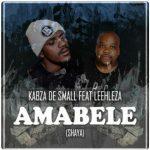 Kabza De Small – Amabele Shaya Ft. Leehleza