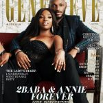 2Baba and Annie Idibia Bare It All on Love and Insecurities in Genevieve Magazine's December Issue