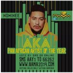 AKA Nominated for Pan African Artist of the Year at NAMA 2019