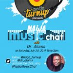 "NaijaTurnUp's Tweet Chat with ""Ala Africa"" Singer, Dr. Alams Holds Today"